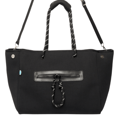 Coco Neoprene Nappy Bag (Black) - Chuchka