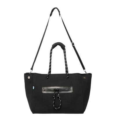 Coco Neoprene Nappy Bag (Black)
