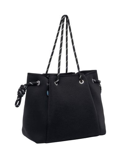 Kiki Black Neoprene Bag - Chuchka