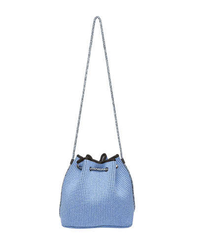 Mira Blue Neoprene Bucket Bag - Chuchka