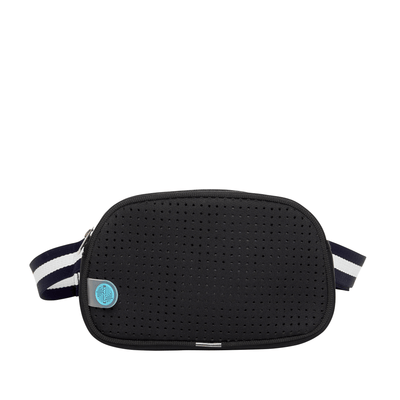 Alina Neoprene Bum Bag (Black)