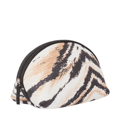Tiger Neoprene Cosmetic Pouch