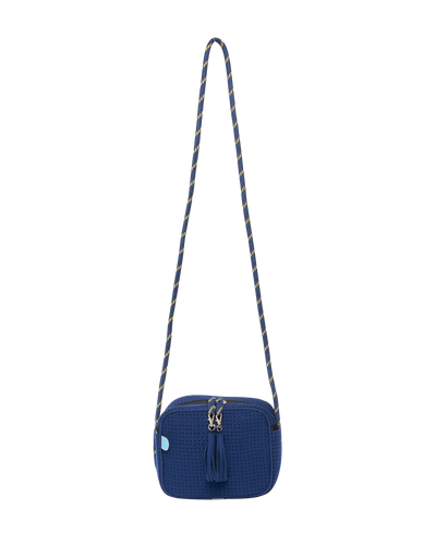 In The Navy Neoprene Crossbody Bag (Navy) - Chuchka