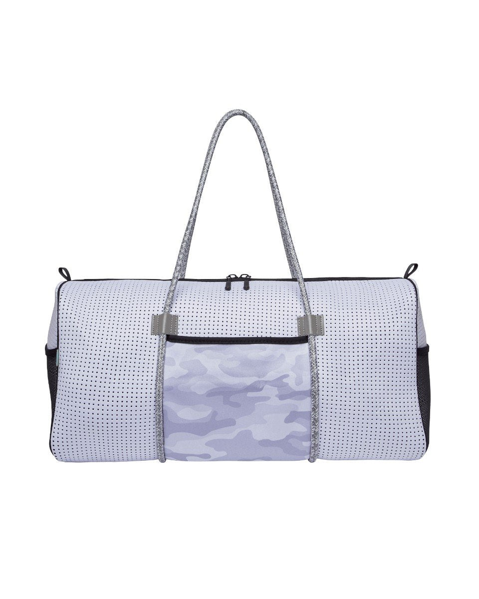 Arma Neoprene Ladies Gym Bag (White Army)  e13df9734877b