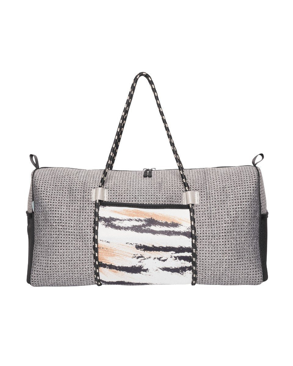 Indie Neoprene Ladies Gym Bag (Grey Tiger)  d8d710f222381