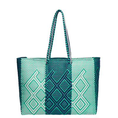 La Paz Mexican Woven Beach Bag (Waterproof) - Chuchka