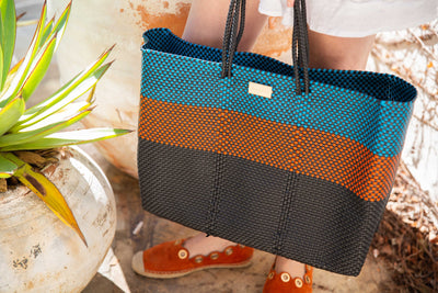 Toluca Mexican Woven Beach Bag (Waterproof) - Chuchka
