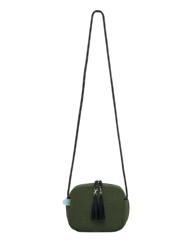 Roro Neoprene Crossbody Bag (Khaki) - Chuchka