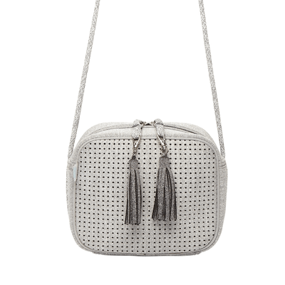 Sissy Neoprene Crossbody Bag (White) - Chuchka