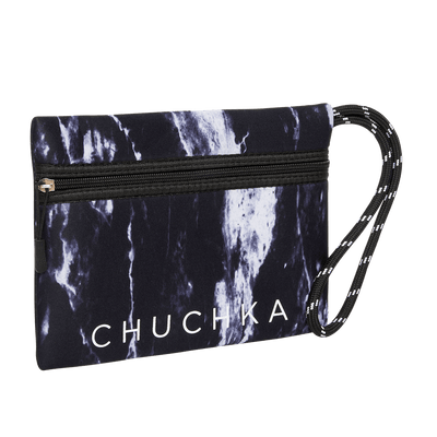 Archie Neoprene Clutch (Marble)