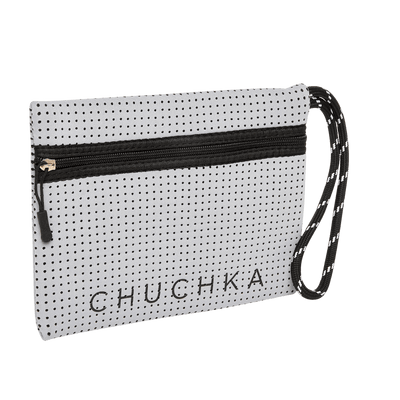 Archie Neoprene Clutch (Grey) - Chuchka