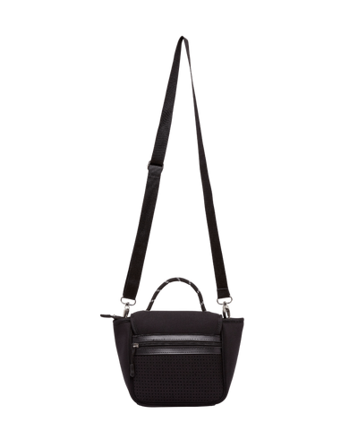Bianca Neoprene Crossbody Bag (Black) - Chuchka