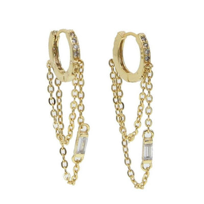 Lover Earrings - Gold - Chuchka
