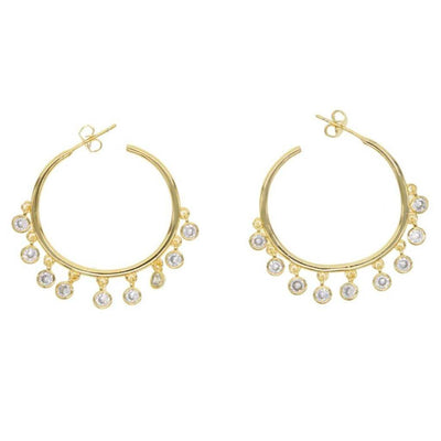 Rocker Earrings - Gold - Chuchka
