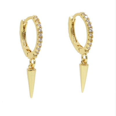 Rockette Earrings - Gold - Chuchka