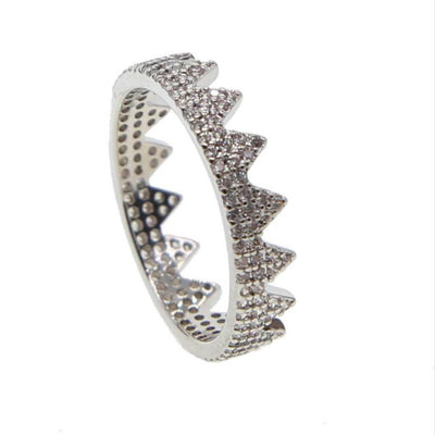 Crown Ring - Silver - Chuchka