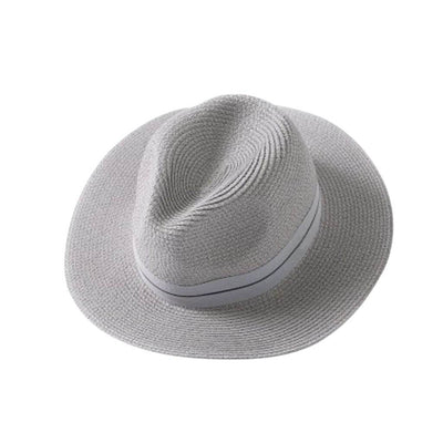 Ladies Panama Hat - Grey - Chuchka