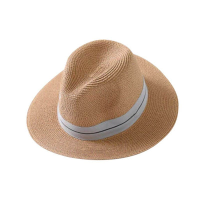 Ladies Panama Hat - Tan - Chuchka