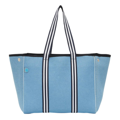 Ashley Denim Tote Bag - Chuchka