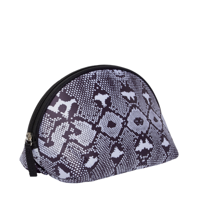 Snakeskin Neoprene Makeup Bag & Travel Pouch - Chuchka