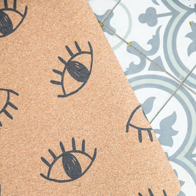 Eyes Cork Yoga Mat