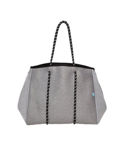 Granite Grey Neoprene Tote Bag - Chuchka