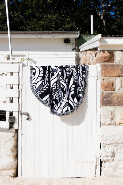 Serpent Round Towel - Chuchka