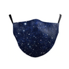 Face Mask Kids Blue Galaxy