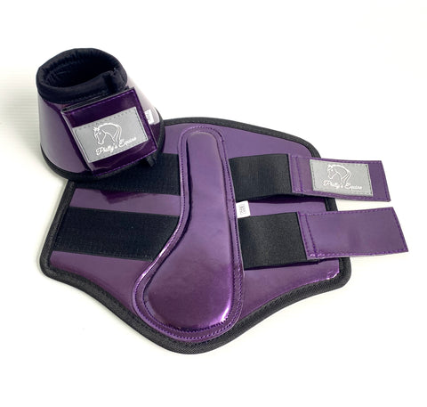 BELL BOOTS - PURPLE