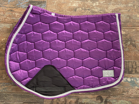LUXE JUMP SADDLE PAD - PURPLE