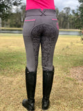 Grey/Pink Breeches