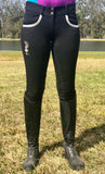 Black/Silver Breeches