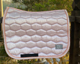 LUXE DRESSAGE SADDLE PAD - ROSE