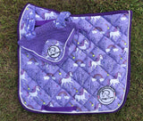 Unicorn Saddle Pad & Ear Bonnet set