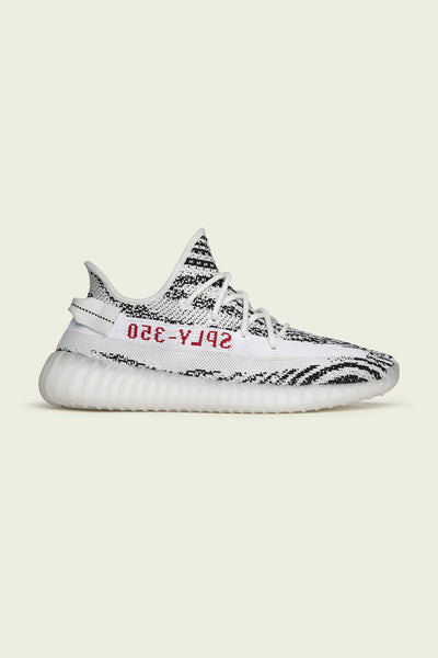 "White/Core Black/Red ""Zebra"" Yeezy Boost 350 V2"