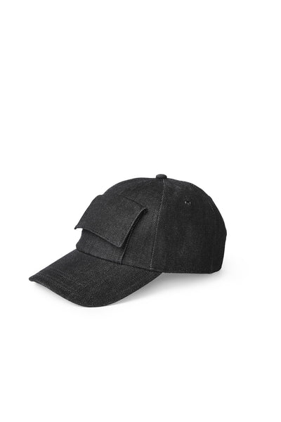 Indigo Pocket Cap