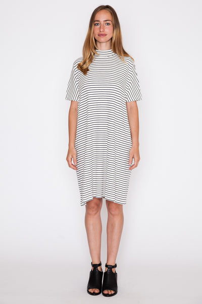 Stripe Nora S/S Dress