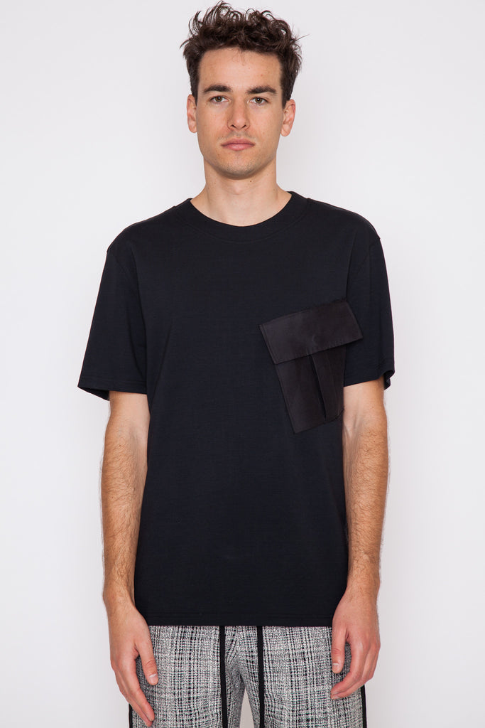 Foss Raw Patch Pocket T-Shirt