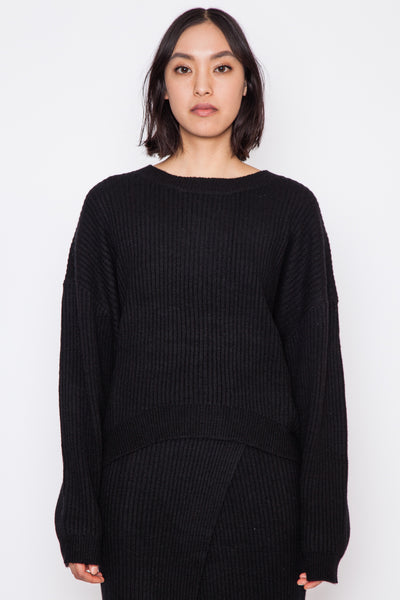 Black Corn Knit