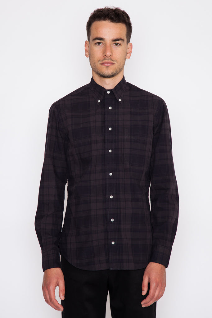 Black Archive Brushed Poplin