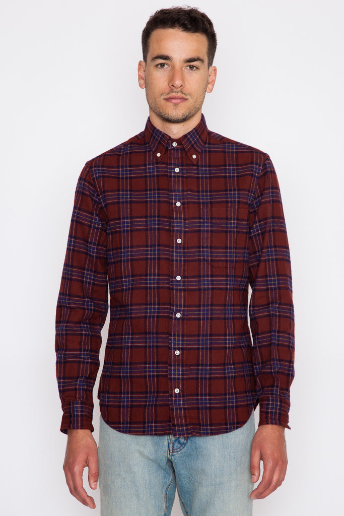 One-Sided Brushed Japanese Flannel