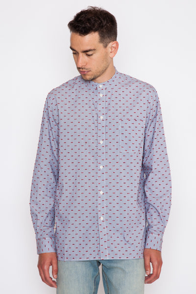 French Dot Stripe Nielsen Shirt