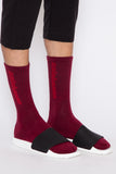 Oxblood Calabasas Sock