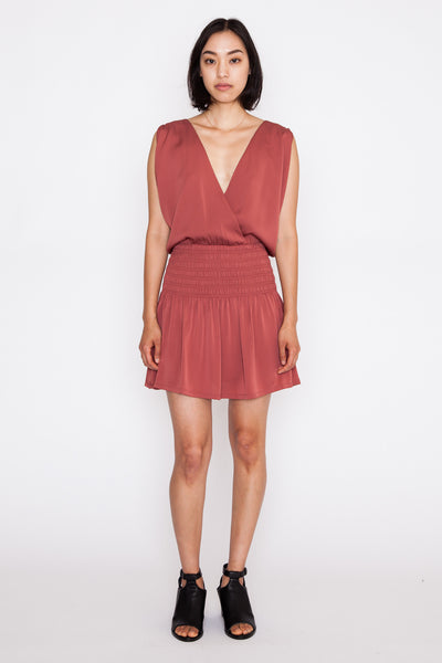 Gabrielle Surplice Dress