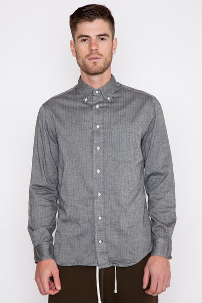 Charcoal Mini-Bone Japanese Flannel