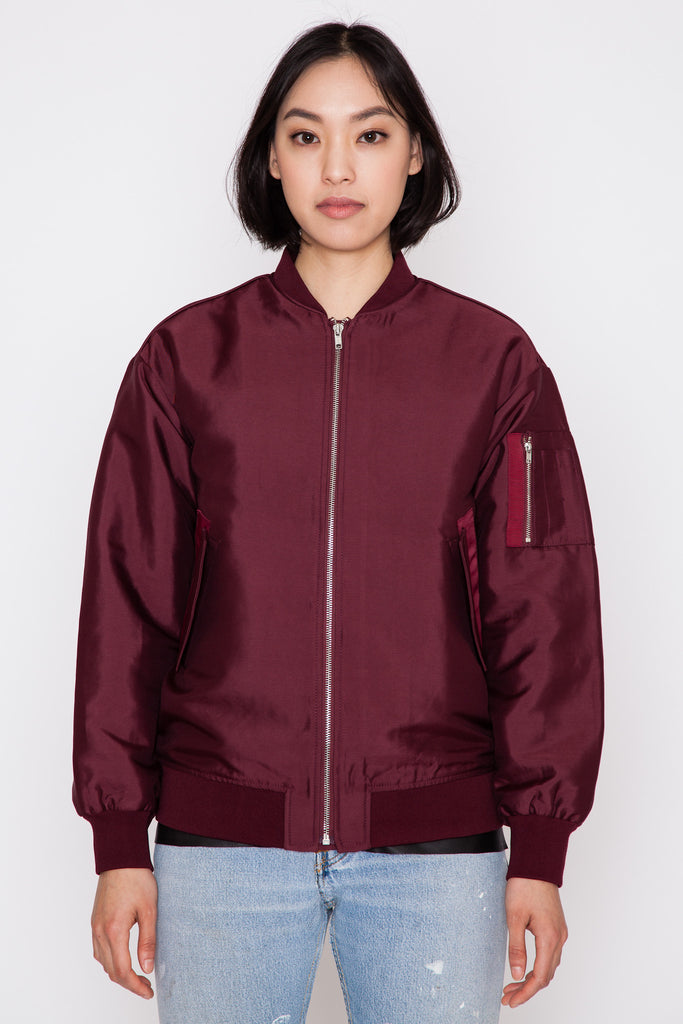 Port Red Theory Bomber