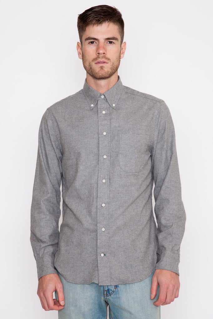 Grey Portuguese Flannel