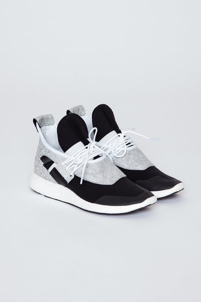 White/Core Black/Scarlet Y-3 Elle Run