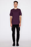 Goth Lip Standard Fit Cut Hem T-Shirt