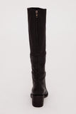 The Black Lost Knee-High Boot